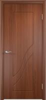 Дверь пвх  Жасмин межкомнатная глухая, итальянский орех (темная)