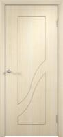 Дверь пвх  Жасмин межкомнатная глухая, беленый дуб