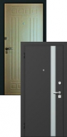 Входная металлическая дверь Валенсия, беленый дуб
