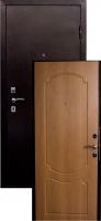 Входная металлическая дверь Виктория, миланский орех