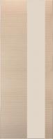 Дверь Экошпон G 8 межкомнатная глухая со стеклом триплекс белое матовое, беленый дуб