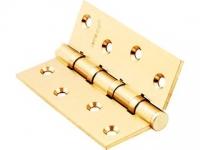 Петли универсальные врезные РВ цвет золото блеск для межкомнатной двери
