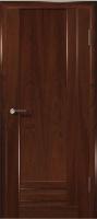 Дверь Галла шпонированная межкомнатная глухая, махагон