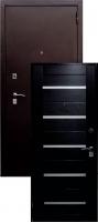 Входная металлическая дверь Аякс S-1, венге