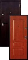 Входная металлическая дверь Строй Гост 7-2, итальянский орех
