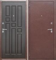 Входная металлическая дверь Гарда 8 мм, венге