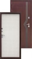 Входная металлическая дверь Изотерма 11см, беленый дуб